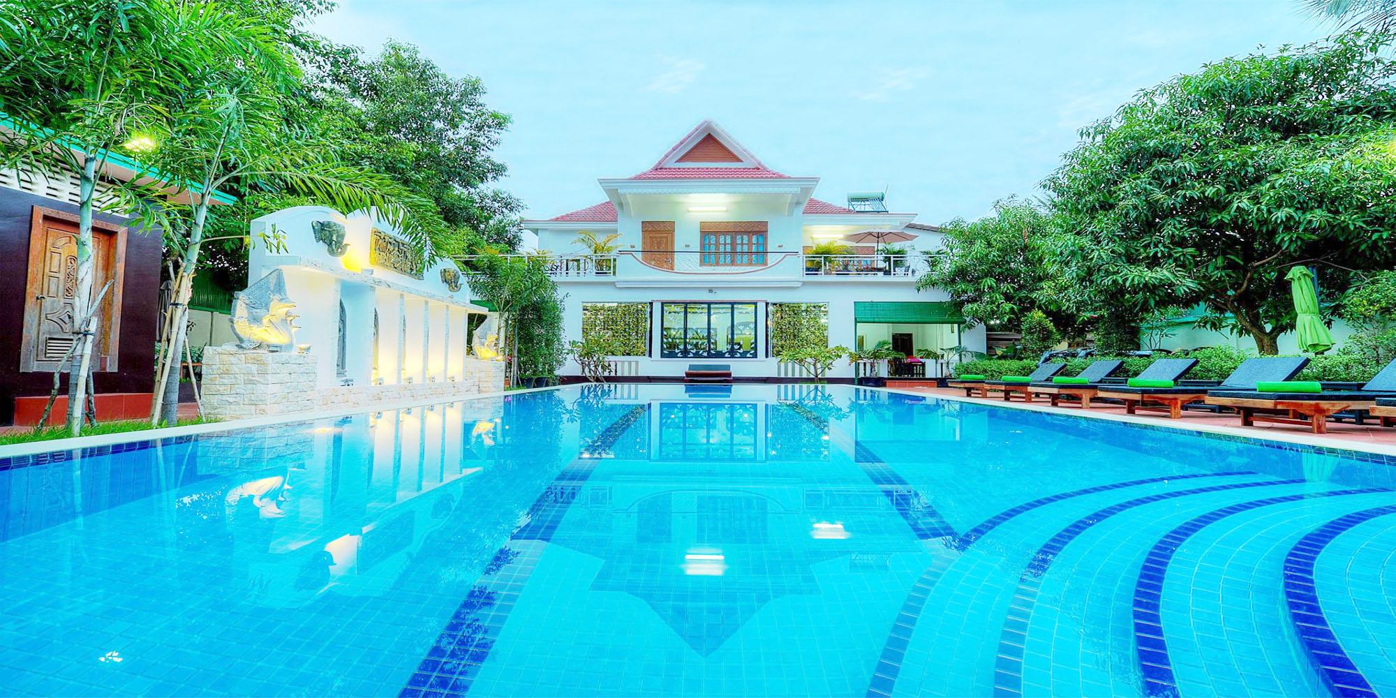 Marvelous 40 – Bedroom Boutique for Rent in Siem Reap – Sala Kamreuk