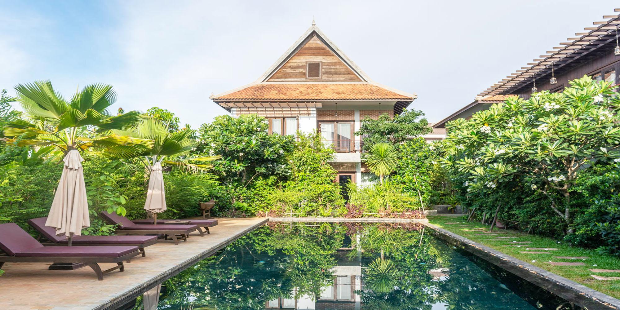 Fabulous and Exquisite Décor 02 – Bedroom Villa for Rent in Siem Reap – Sala Kamreuk [POOL]